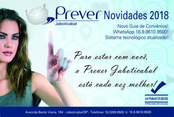 Prever Jaboticabal lança novidades 2018