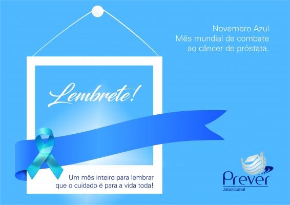 Prever Jaboticabal apóia Campanha Novembro Azul