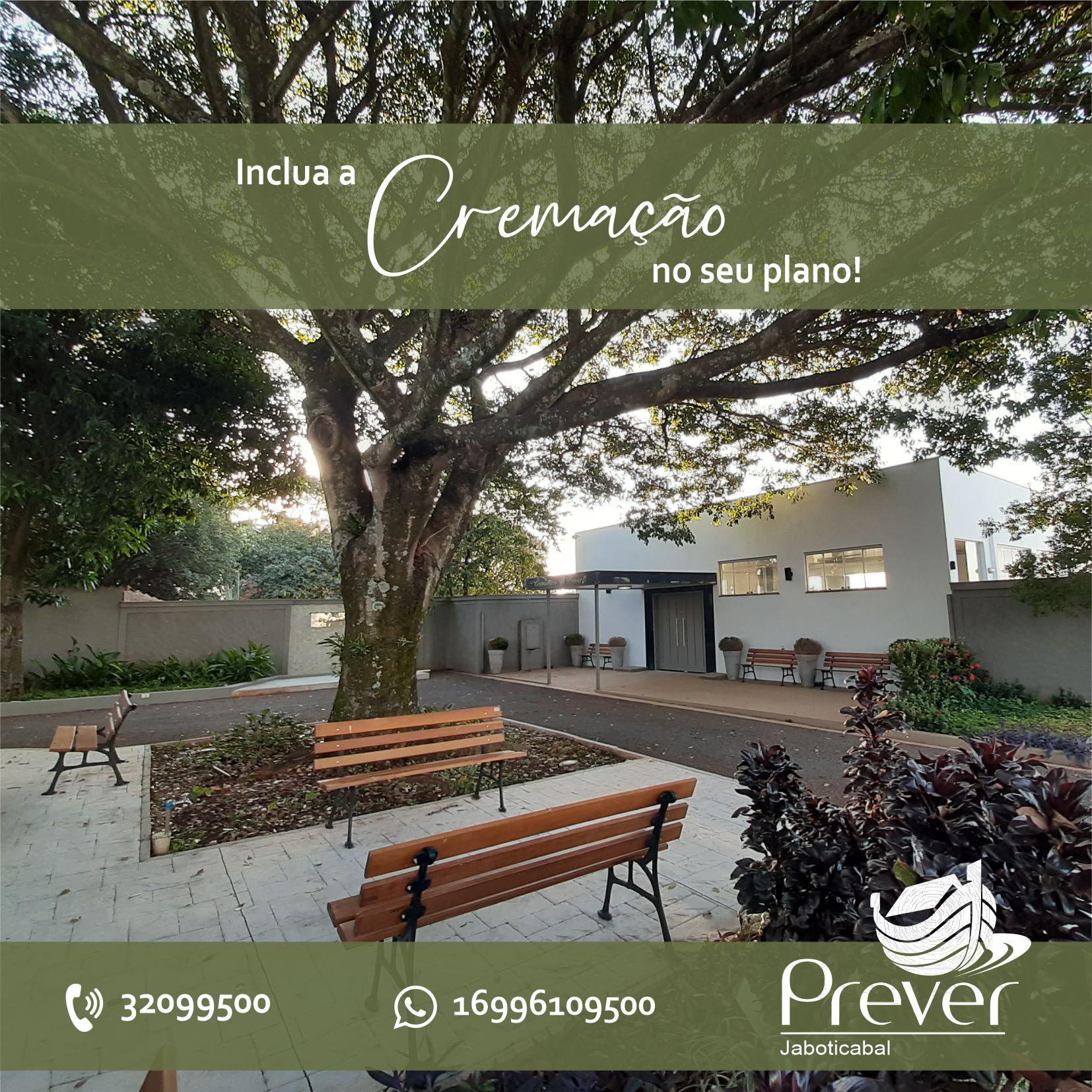 Cliente pode incluir cremação no Plano Prever Jaboticabal